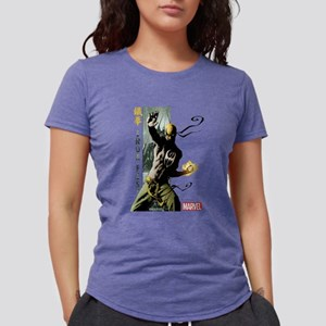 Iron Fist Vertical Cover  Womens Tri-blend T-Shirt