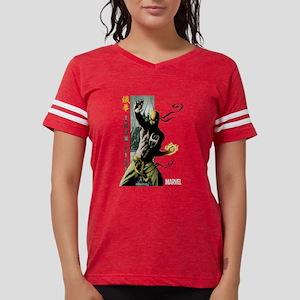 Iron Fist Vertical Cover Pai Womens Football Shirt