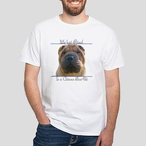 Shar-Pei Best Friend2 White T-Shirt
