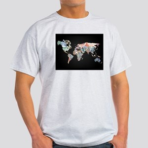 World Money Fiat Currency Map T-Shirt