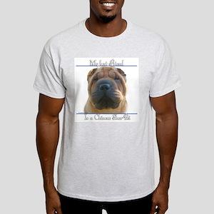 Shar-Pei Best Friend2 Ash Grey T-Shirt