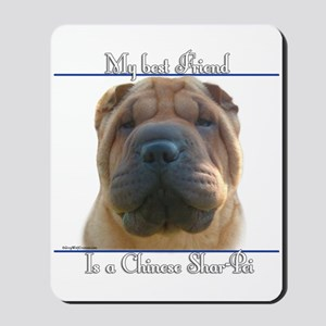 Shar-Pei Best Friend2 Mousepad