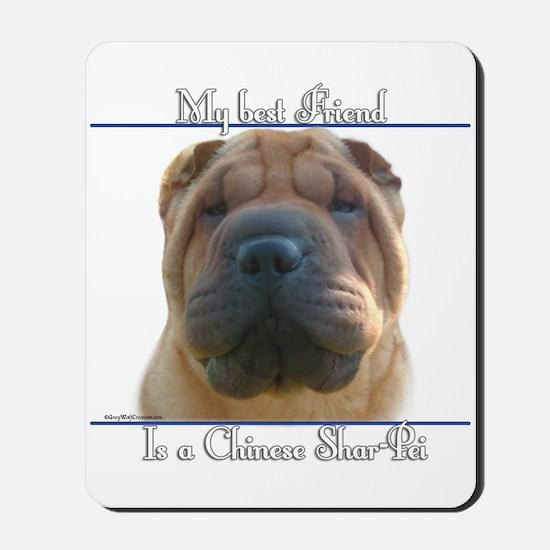 Shar-Pei Best Friend2 Mousepad