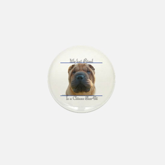 Shar-Pei Best Friend2 Mini Button