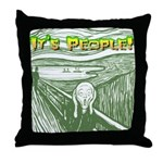 It's People! Throw Pillow