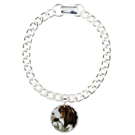 little bassett Charm Bracelet, One Charm