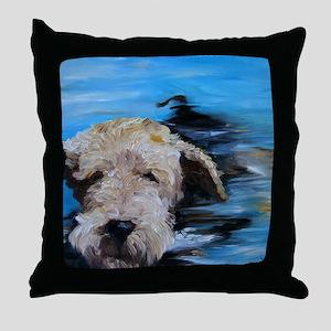 Swimmer! Throw Pillow