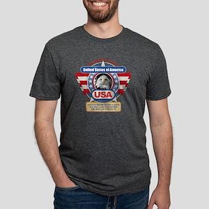 USA Pledge of Allegiance Mens Tri-blend T-Shirt