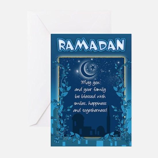 Ramadan Greeting Card With Inside Verse (Pk of 20)