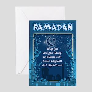 Ramadan greeting cards cafepress ramadan greeting card with inside verse m4hsunfo