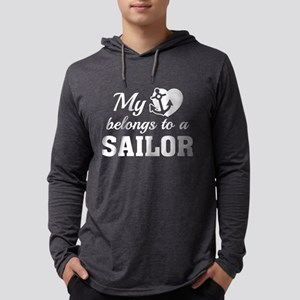 HeartBelongsSailor1E Mens Hooded Shirt