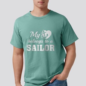 HeartBelongsSailor1E Mens Comfort Colors Shirt