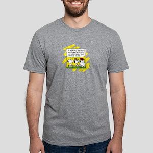 Peanuts - Brothers Mens Tri-blend T-Shirt