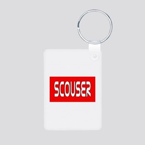 Scouser White/Red Keychains