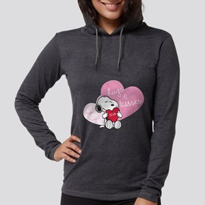 Snoopy Hugs and Kisses - Perso Womens Hooded Shirt