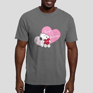 Snoopy Hugs and Kisses - Mens Comfort Colors Shirt