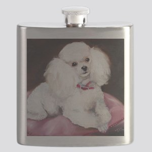 pretty on pink Flask