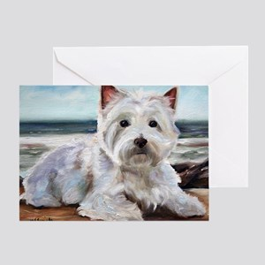King of the Beach Greeting Card