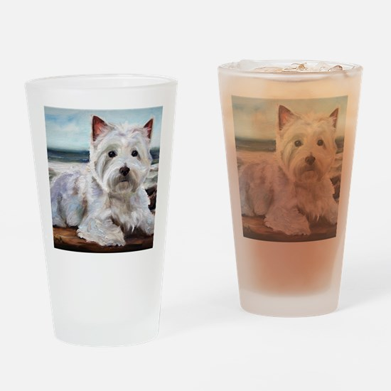 King of the Beach Drinking Glass
