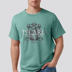 Picard-Vineyards-blk Mens Comfort Colors Shirt