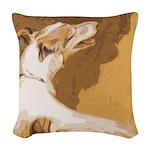 Vintage Borzoi Painting Pillow