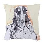 Watercolor Borzoi Pillow