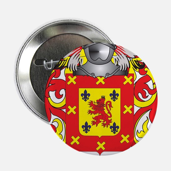 "Mercado Coat of Arms - Family Crest 2.25"" Button"