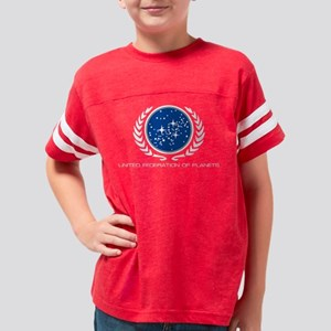 star trek1 Youth Football Shirt