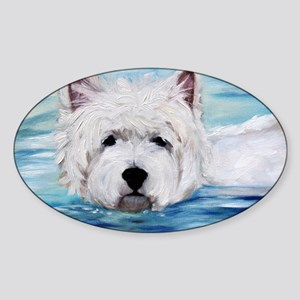 Furry Dippin Sticker (Oval)
