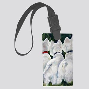 three Amigos Large Luggage Tag