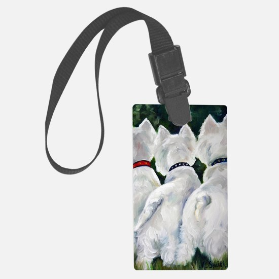 three Amigos Luggage Tag