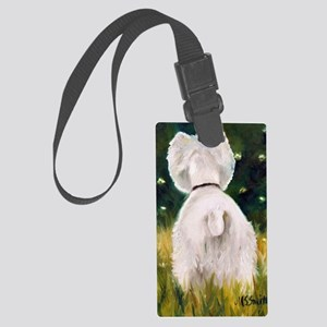 Fireflies Large Luggage Tag