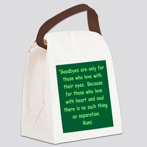 31 Canvas Lunch Bag