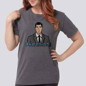 Archer Phrasing Light Womens Comfort Colors Shirt