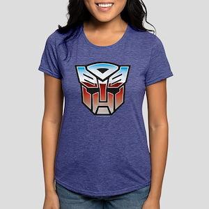 Transformers Autobot Symb Womens Tri-blend T-Shirt