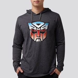 Transformers Autobot Symbol Dark Mens Hooded Shirt