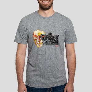 Ghost Rider Logo Mens Tri-blend T-Shirt