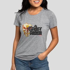 Ghost Rider Logo Womens Tri-blend T-Shirt