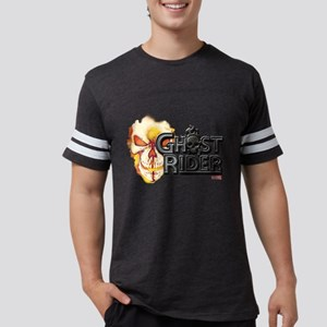 Ghost Rider Logo Mens Football Shirt