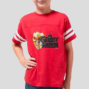 Ghost Rider Logo Youth Football Shirt