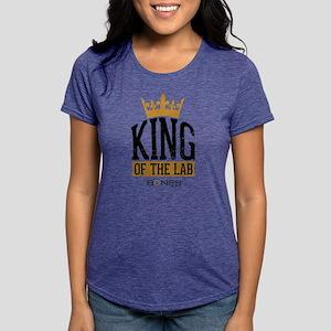 Bones King of the Lab Lig Womens Tri-blend T-Shirt