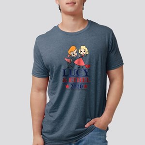 Lucy and Ethel 2020 Mens Tri-blend T-Shirt