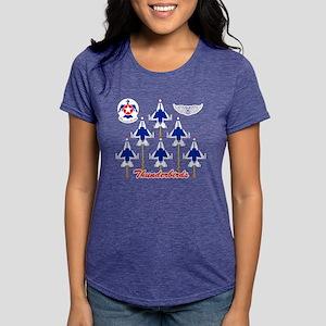 Thunderbirds Womens Tri-blend T-Shirt