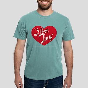 I Love Lucy: Logo Dark Mens Comfort Colors Shirt