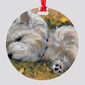 Beautiful Dreamer Round Ornament