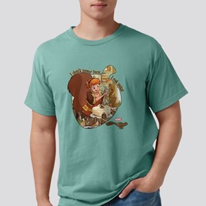 Squirrel Girl Nuts Mens Comfort Colors Shirt