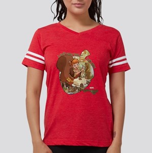 Squirrel Girl Nuts Womens Football Shirt