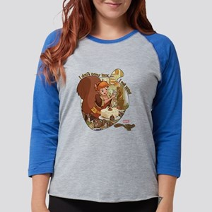 Squirrel Girl Nuts Womens Baseball Tee