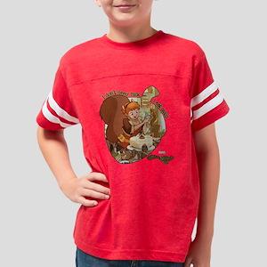 Squirrel Girl Nuts Youth Football Shirt