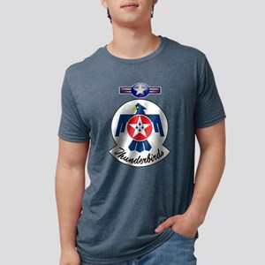 USAF Thunderbirds Value Mens Tri-blend T-Shirt